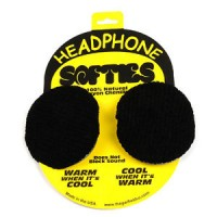 HEADPHONE SOFTIES, BLACK
