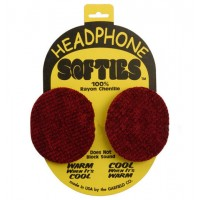 HEADPHONE SOFTIES, RED
