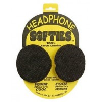 HEADPHONE SOFTIES, GREEN