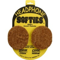 HEADPHONE SOFTIES, GOLD