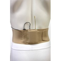 Waist Strap Large - beige, small pouch