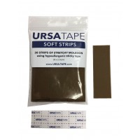 Soft Strips, 30x small strips - brown