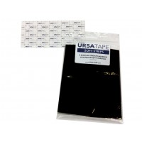 URSA TAPE Soft Strips, 8x large strips - black