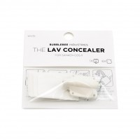 The Lav Concealer, Sanken COS-11, White (Single)