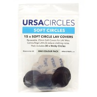 Soft Circles Pack (Pack of 15) - brown
