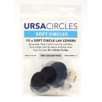 Soft Circles Pack (Pack of 15) - black