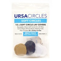 Soft Circles Pack of 18 - mixed colours