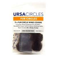 Fur Circles - Brown