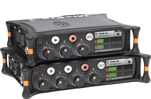Sound Devices Mixpre-6 and Mixpre-3